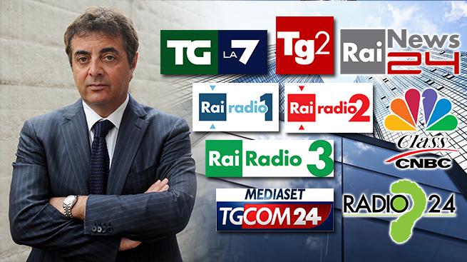 I DATI DIFFUSI DALLA FABI SUGLI ESUBERI DEI BANCARI SU RADIO E TV