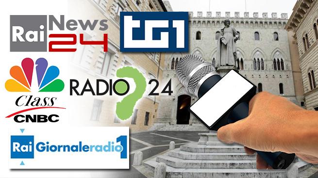 PIANO INDUSTRIALE MPS: I SERVIZI DI RADIO E TV