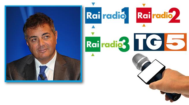 INTESA E BANCHE VENETE, LE INTERVISTE A SILEONI SU RADIO E TV