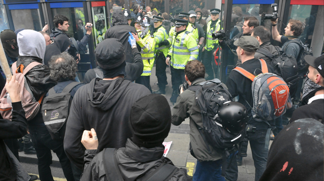 Le rivolte? Frutto dell'ingiustizia sociale (da ilmegafonoquotidiano.it, domenica 1° aprile 2012)
