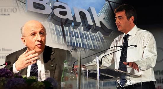 """I sindacati all'attacco delle banche: """"Prestiti ai soliti noti"""" (da LIBERO, venerdì 14 giugno 2013 - 18:44)"""