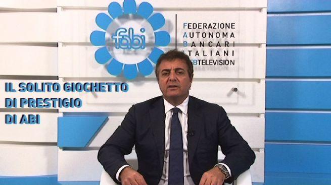 """""""IL SOLITO GIOCHETTO DI PRESTIGIO DI ABI"""" - IL VIDEOMESSAGGIO DI SILEONI RIPRESO DA STAMPA E WEB"""