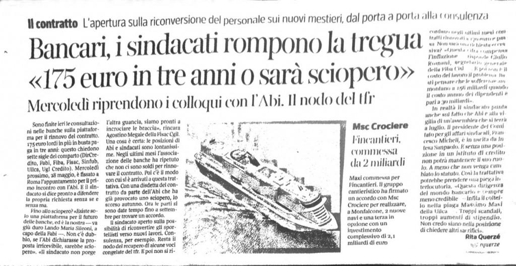 Corriere della Sera, 24 maggio 2014