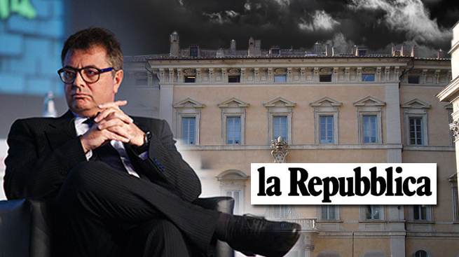 """""""POPOLARI, LA DANZA DELLE FUSIONI - UBI E BANCO PADRONI DEL MERCATO"""" - da La Repubblica di lunedì 26 gennaio"""