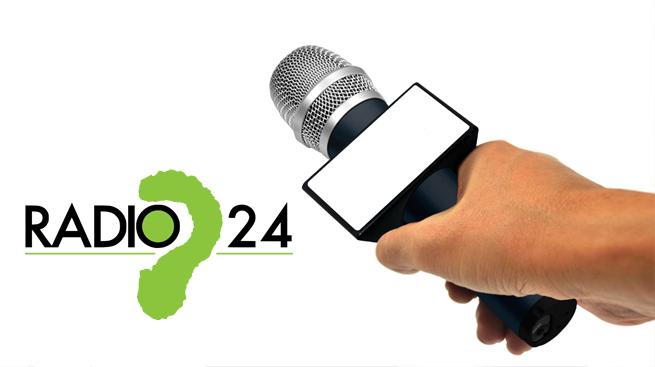 SILEONI A BRUTTO MUSO A RADIO 24