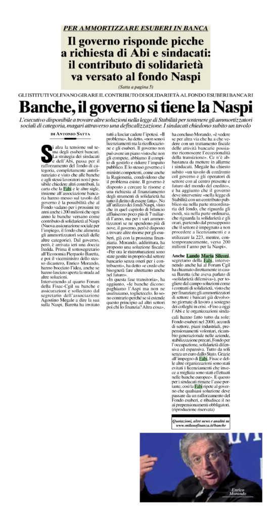articolo MF. 21 sett