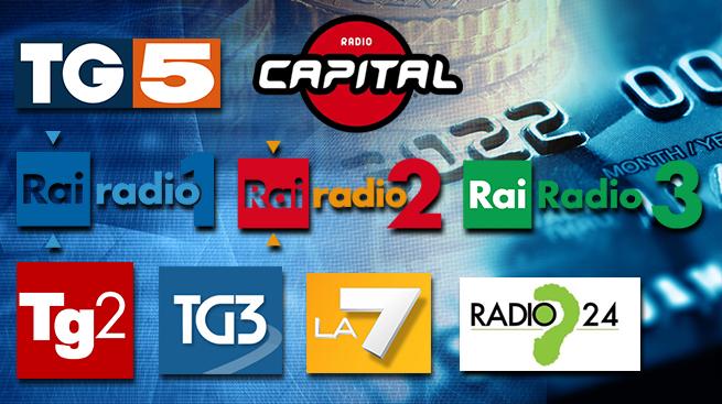 L'ACCORDO UNICREDIT SU RADIO E TV