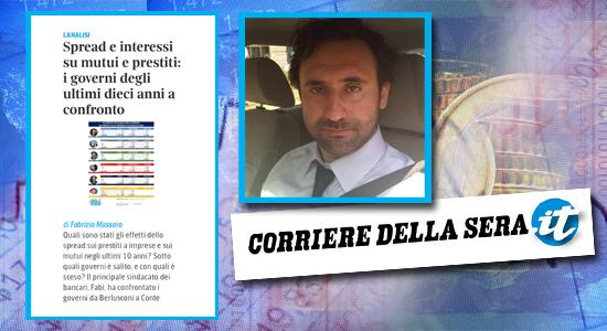 SPREAD, L'ANALISI DELLA FABI SU CORRIERE.IT
