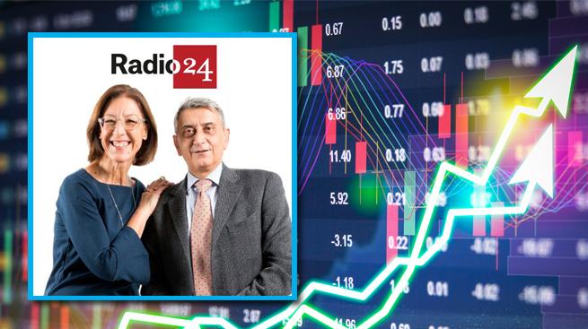 EDUCAZIONE FINANZIARIA, SILEONI IN DIRETTA SU RADIO24