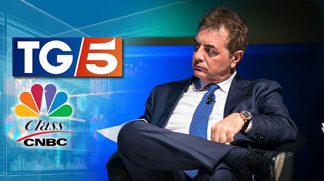 SILEONI SU TG5 E CLASS CNBC: