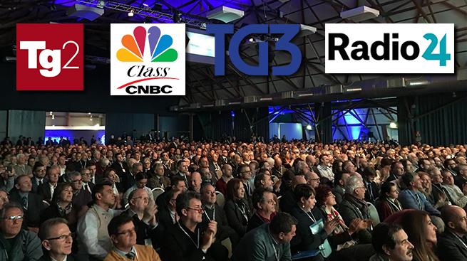 IL 124° CONSIGLIO NAZIONALE RACCONTATO DA RADIO E TV