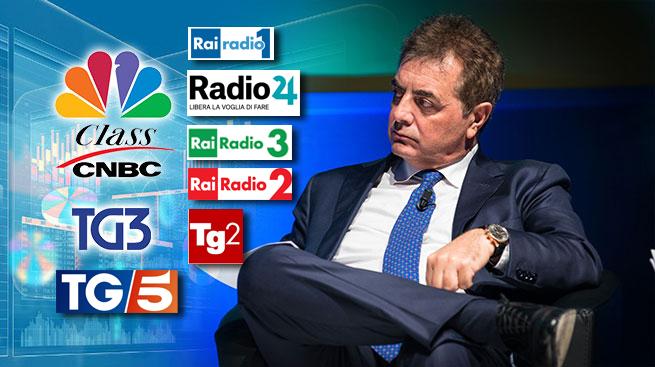 CARIGE, VERTICE TRA COMMISSARI E SINDACATI - SILEONI INTERVISTATO DA RADIO E TV