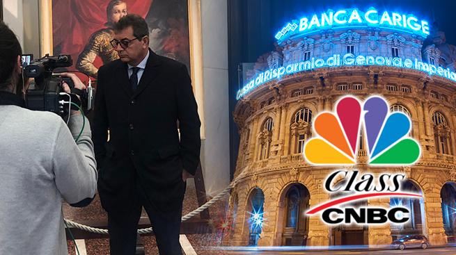 """SILEONI A CLASS-CNBC: """"AL PRIMO LICENZIAMENTO IN CARIGE BLOCCHEREMO IL SETTORE"""""""