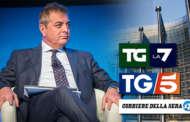 SILEONI AL TG5 E AL TGLA7: