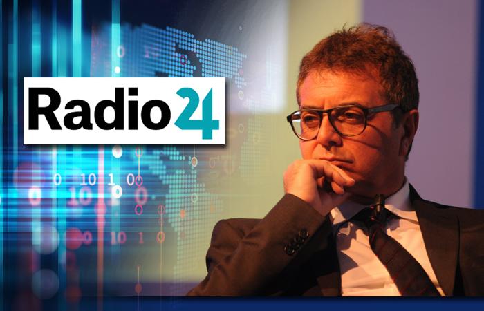 SILEONI IN DIRETTA A RADIO24: