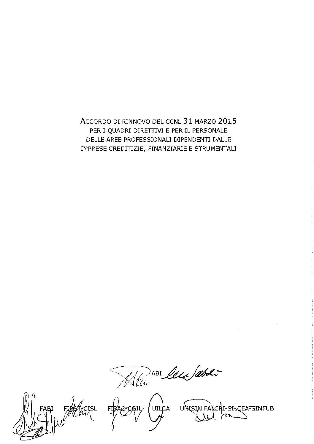 Accordo di rinnovo 19.12.2019