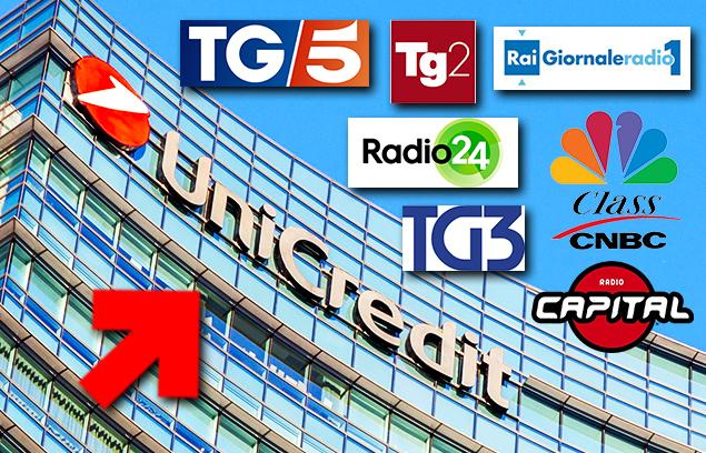 RADIO E TV RACCONTANO IL NO DELLA FABI AI TAGLI DI UNICREDIT