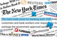 NEW YORK TIMES, REUTERS E CHINA TODAY: LA FABI SUI MEDIA STRANIERI
