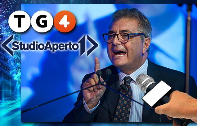 """SILEONI AL TG4 E STUDIO APERTO: """"NON TOLLEREREMO VIOLENZE CONTRO BANCARI"""""""