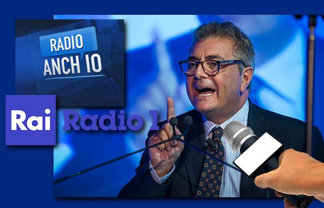 SILEONI IN DIRETTA A RADIO RAI 1: «LUNEDÌ IN BANCA PRESTITI 25.000 EURO IN SOLE 4 MOSSE»