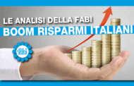 RICERCA FABI: BOOM RISPARMI ITALIANI +45 MILIARDI IN 2019