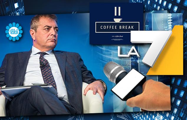 SILEONI IN DIRETTA A COFFEE BREAK: «DALLE BANCHE ANARCHIA SUI PRESTITI GARANTITI»