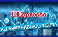 L'ALLARME FABI SULL'USURA NELL'INCHIESTA DELL'ESPRESSO