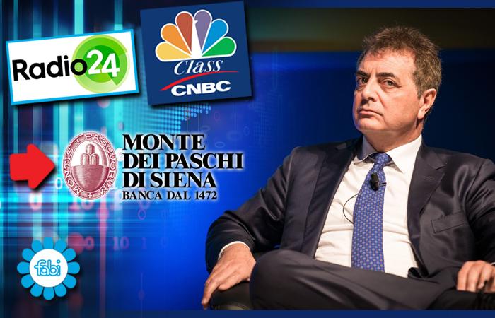 LA FABI SU RADIO24 E CLASS CNBC: «LO STATO FUORI DA MPS NEL 2022»