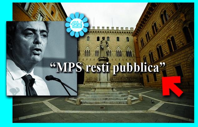 """""""PER MPS DIVERSE SOLUZIONI, MA PER ORA RESTI PUBBLICA"""""""