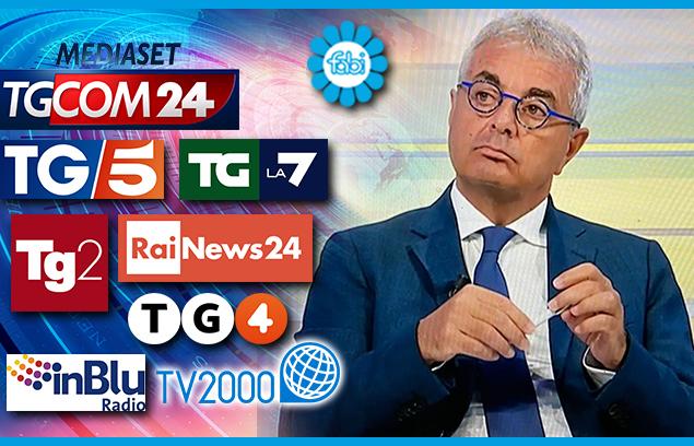 L'ALLARME FABI SU TG5, TG2, TGCOM24, TG LA7, TV2000, RADIO INBLU, RAINEWS 24, TG4: A GIUGNO RISCHIO DEFAULT PER 2,7 MILIONI DI FAMIGLIE E IMPRESE